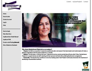 careers.saskpolytech.ca screenshot
