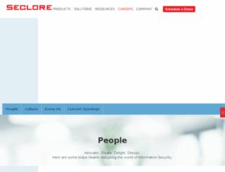 careers.seclore.com screenshot