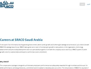 careers.sraco.com.sa screenshot