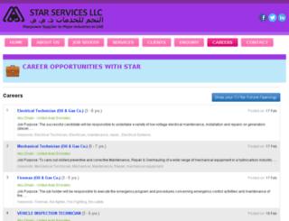 careers.starservicesuae.com screenshot