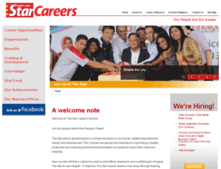 careers.thestar.com.my screenshot