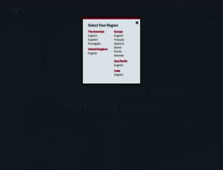 careers.trapezegroup.com screenshot