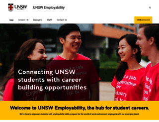 careers.unsw.edu.au screenshot