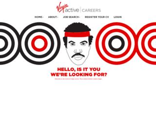 careers.virginactive.co.za screenshot