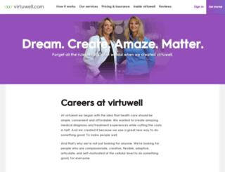 careers.virtuwell.com screenshot