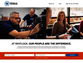 careers.whitlock.com screenshot