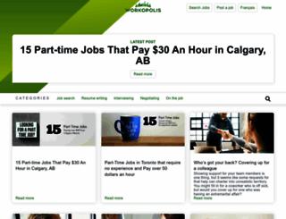 careers.workopolis.com screenshot
