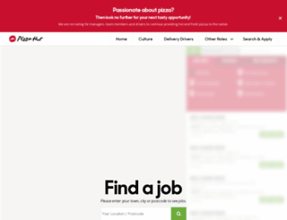 careersatpizzahut.co.uk screenshot