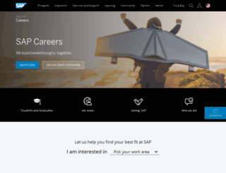 careersatsap.com screenshot