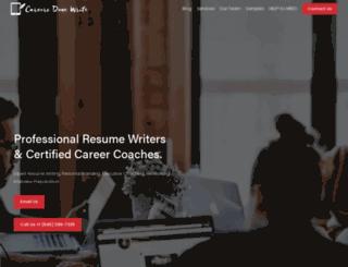 careersdonewrite.com screenshot