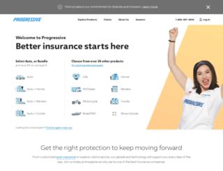 careersearch.progressive.com screenshot