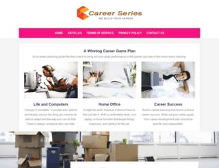 careerseries.com.sg screenshot