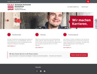 careerservice-fhb.de screenshot