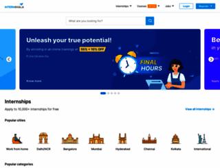careerservices.internshala.com screenshot