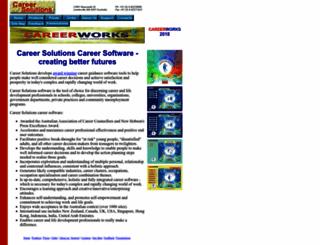 careersolutions.com.au screenshot