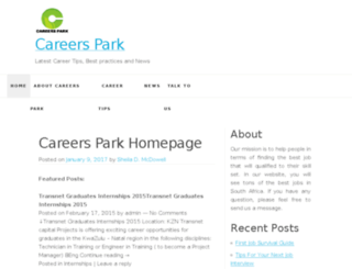 careerspark.co.za screenshot
