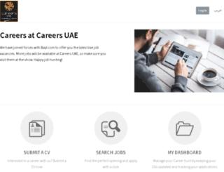 careersuae.bayt.com screenshot