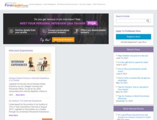 careertools.firstnaukri.com screenshot