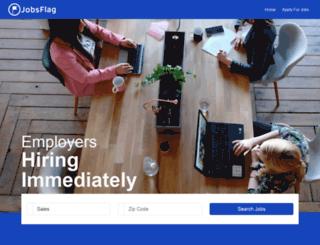 caregiver.jobsflag.com screenshot
