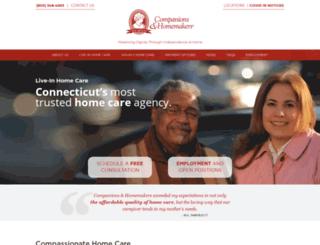 caregiverjobsct.com screenshot