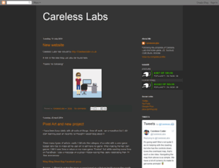 carelesslabs.blogspot.co.uk screenshot