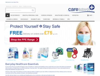 caresaverplus.co.uk screenshot