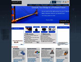caresoftinc.com screenshot