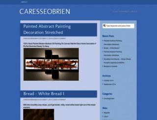 caresseobrien.wordpress.com screenshot