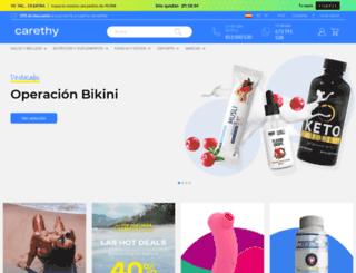 carethy.es screenshot