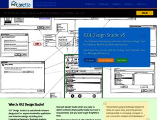 carettasoftware.com screenshot