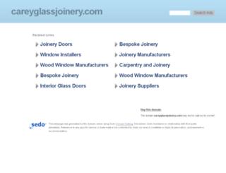 careyglassjoinery.com screenshot