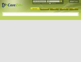 carezilla.net screenshot