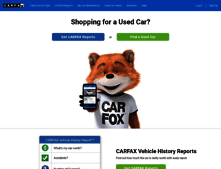 carfax.com screenshot