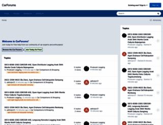 carforums.com screenshot