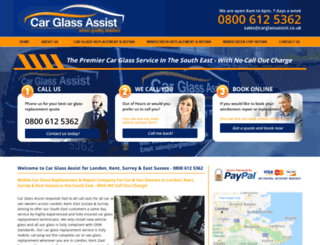 carglassassist.co.uk screenshot