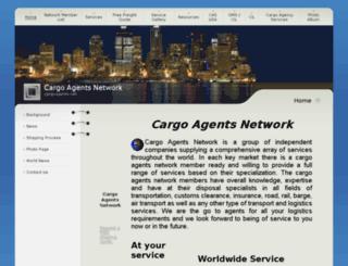 cargoagents.net screenshot