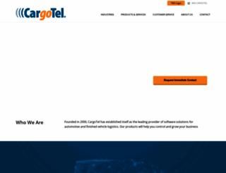cargotel.com screenshot