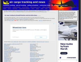 cargotracking.utopiax.org screenshot