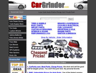 cargrinder.com screenshot