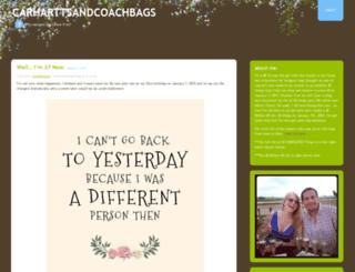 carharttsandcoachbags.wordpress.com screenshot