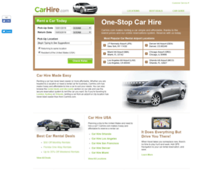 carhire.com screenshot
