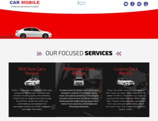 carhirebangalore.com screenshot