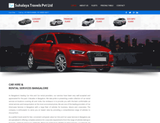 carhireservices.in screenshot