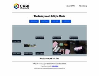cari.com.my screenshot