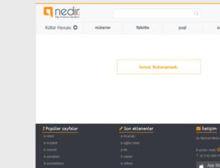 cariacik.nedir.com screenshot