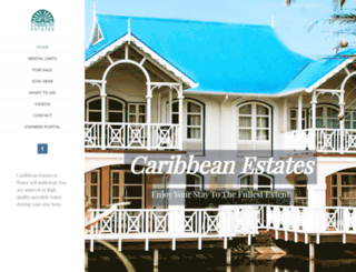caribbean-estates.co.za screenshot