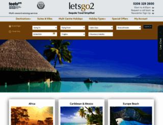 caribbean.letsgo2.com screenshot