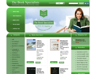 caribbeanbookspecialists.com screenshot