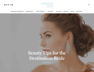 caribbeanbride.com screenshot
