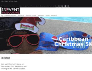 caribbeanchristmashalf.com screenshot